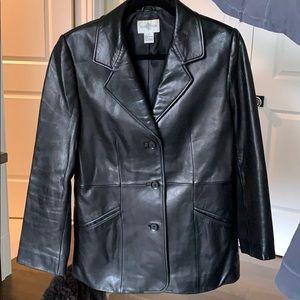 HP 🥳 Nordstrom Leather Blazer